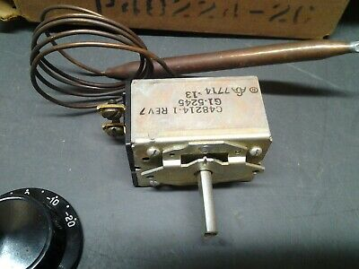 Vintage Naotaotherm Thermostat 85786  For Baseboard Heaters