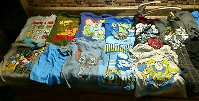 Toddler 4T Boys Clothes 17 pc Lot Disney Star Wars Mickey Mouse Toy Story Lion q