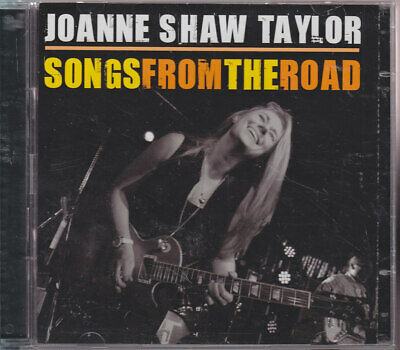 """JOANNE SHAW TAYLOR """"Songs From The Road"""" CD & DVD"""