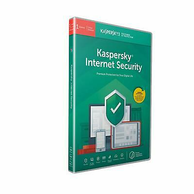 Kaspersky Internet Security 2019 1 Device 1 Year PC Mac Android Email Key EU