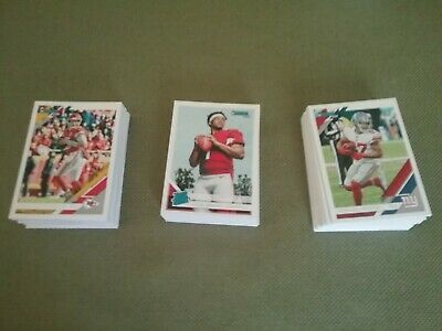 2019 Donruss Football Card Rookie Singles - #251 to #350 Create Own Lot! RC's