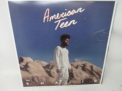 Khalid American Teen Limited Edition Blue Colored Vinyl LP