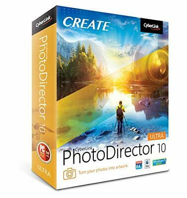 CyberLink PhotoDirector Ultra 10 | Activated Version | Digital Download