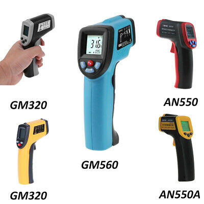 AN550A/GM550/GM560 Non-contact Infrared Digital LCD Thermometer Temperature Gun