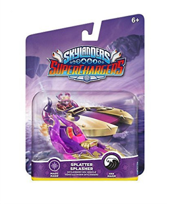 Toys-Skylanders SuperChargers - Vehicle - Splatter Splasher /Video Game Toy NEW