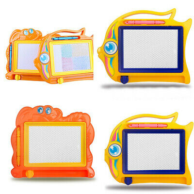 Magnetic Drawing Board Sketch Pad Doodle Writing Craft Art for Children Kids ADF