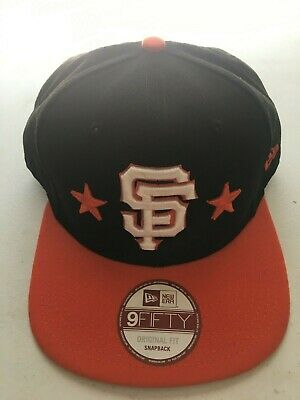 def13501 SAN FRANCISCO GIANTS NL Patch Retro New Era 9FIFTY MLB Snapback Hat ...