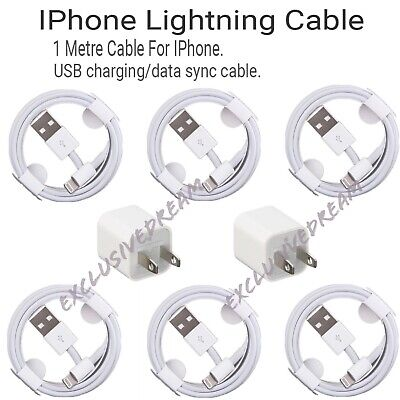 OEM Genuine iPhone Charger Original Apple Lightning USB Cable XS Max 7 8 X Plus