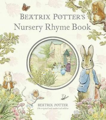 NEW Beatrix Potter's Nursery Rhyme Book By Beatrix Potter Hardcover