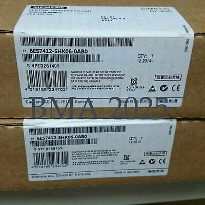 New In Box Siemens 6ES7 412-5HK06-0AB0 6ES7412-5HK06-0AB0 1 year warranty