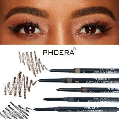 PHOERA Double Ended Eyebrow Pencil Ultra Thin Tip Waterproof Long-lasting Pen###