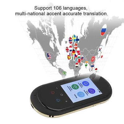 T8 2.4inch Intelligent Translator HD Touch Screen WIFI 106 Languages 1200MAh