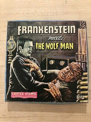 "Super 8 ""Frankenstein meets the Wolfman""  Monster horror film Very Good"