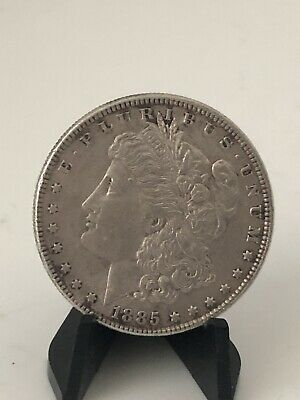 1885 Us United States Silver Morgan One Dollar Coin
