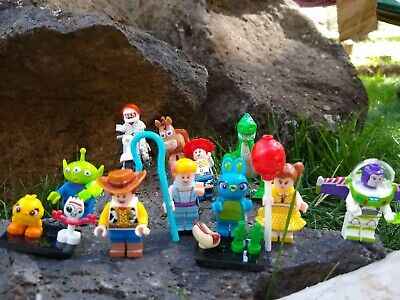 12 Toy Story 4 Minifigures Action figure Forky Bunny Ducky Alien Duke Caboom Rex