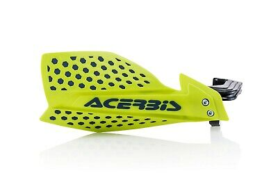 Acerbis X Ultimate Hand Guard Mx Motocross Enduro Universal Fitting Yellow Blue