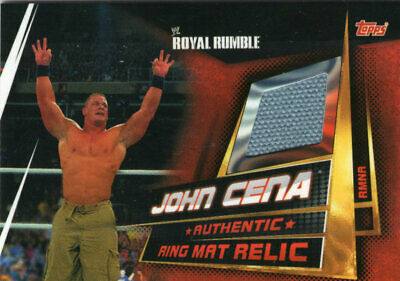 Topps Wwe Slam Attax Universe - John Cena Ring Mat Relic Card - Royal Rumble