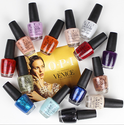 OPI Nail Polish Venice Colletion Fall 2015 Swatches Lacquer 15ml Gel Nail