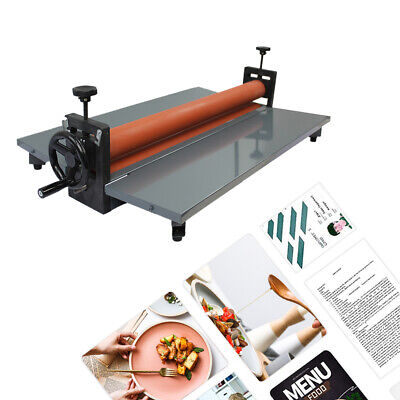 "29.5"" / 750mm Manual Desktop Cold Laminator Laminating Machine LBS750"