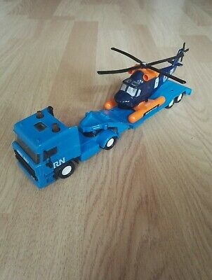 Matchbox Super Kings - Daf Space Cab Hubschrauber Transporter K126 1986