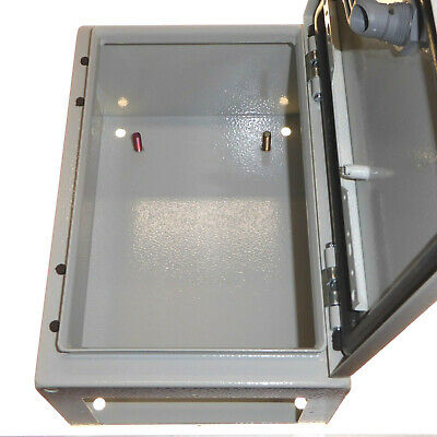 Metal Electrical Enclosure IP65 with Steel Plate 300 x 200 x 150mm Switchgear