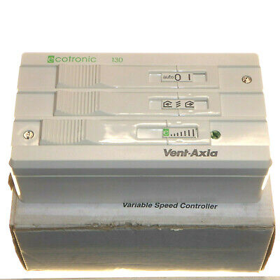 Vent-Axia W300310 Single Direction 1.5A Variable Speed Controller for Fans New
