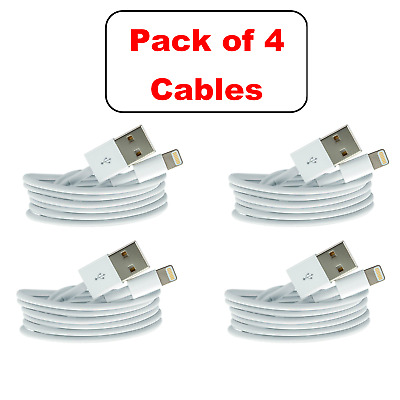 4x iPhone 6 Speedy Data Cable Apple iPad USB Charger Lightnin Sync Charging 6 6s