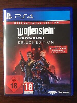 Wolfenstein Youngblood PS4 International Deluxe Edition Mit Buddy Pass