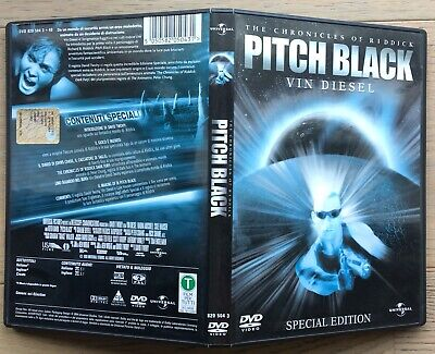 Dvd The Chronicles Of Riddick Pitch Black Con Vin Diesel Come Nuovo