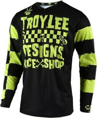 2019 Troy Lee Designs RACESHOP 5000 TLD MX GP Motocross Jersey Lime Adults