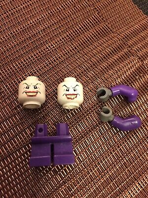 Lego- Minifig, Head Male Wide Smile W/red Lips, Crow's Feet (the Joker) XTRA