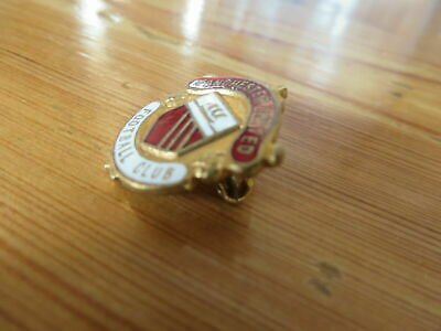 ANCIENNE EPINGLETTE BADGE INSIGNE MUFC PANCHESTER UNITED FC pins  FOOTBALL L71