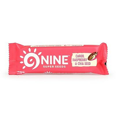 Berry & Chia Seed Bar (Nine) 40g | Buy Whole Foods Online | Free UK P&P