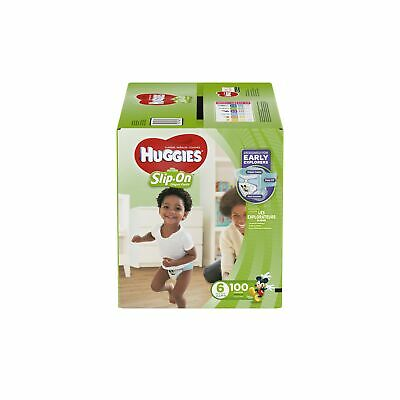 HUGGIES Little Movers Slip On Diaper Pants Size 6 Economy Plus Pack Leak Lock
