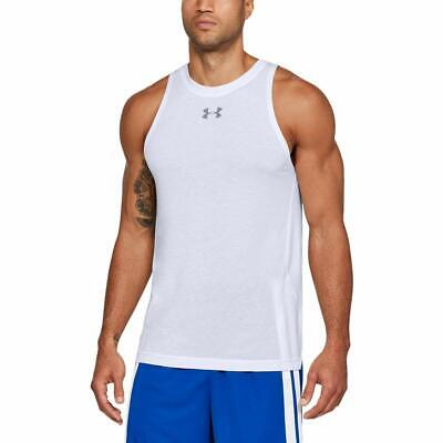 Under Armour Mens UA x Project Rock Baseline Tank Fitted 1330915-001 Black NWT