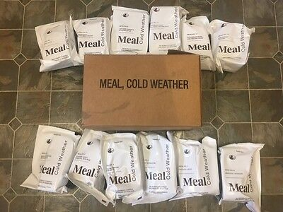 Genuine US Military Cold Weather MRE (Choice of Menu) MCW FRESH !!!! 2021 !!!!!