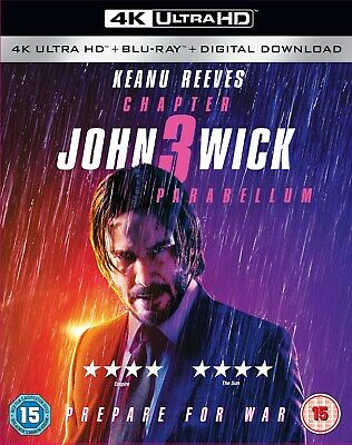 John Wick: Chapter 3 - Parabellum (4K Ultra HD + Blu-ray + D RELEASED 16/09/2019