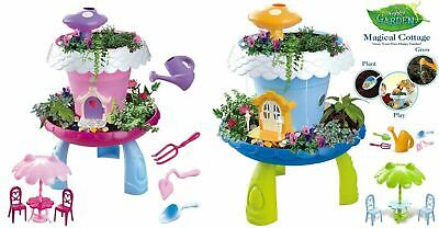 Fairy Tale Garden Magical Cottage Playset DIY Miniature Gardening for Kids