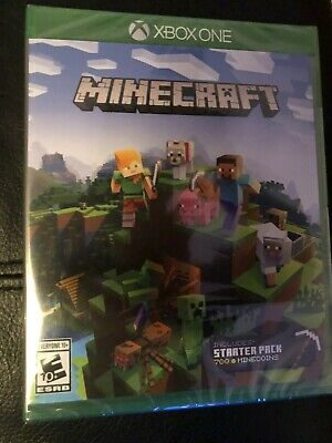 Minecraft Starter Collection - Xbox One XB1 NEW SEALED INCLUDES STARTER PACK