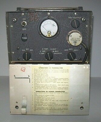 Vintage World War II - Army Test Oscillator - Feb. 1945
