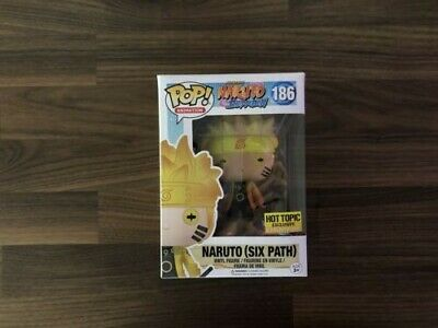 Funko POP! Animation NARUTO SIX PATH #186 Glow In The Dark Hot Topic Exclusive