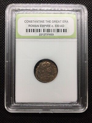 Ancient Roman Coin - Constantine the Great Era - Nice Quality c. 330 AD ROMCTG04