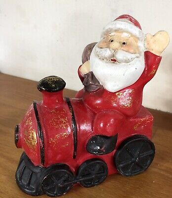 Latex Mould for making this Lovely Santa On A Train
