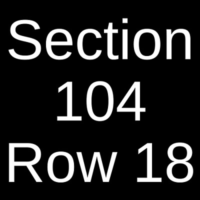 2 Tickets Oklahoma Sooners vs. TCU Horned Frogs Football 11/23/19 Norman, OK