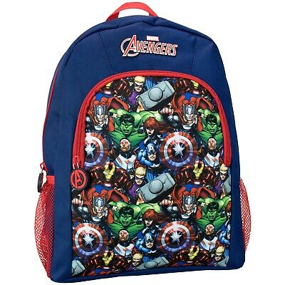 Avengers Backpack I Boys Marvel Avengers Rucksack I Kids Avengers School Bag