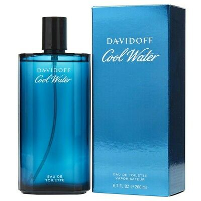 COOL WATER Cologne by Davidoff 6.7 oz 6.8 200 ml EDT New in Box SEALED