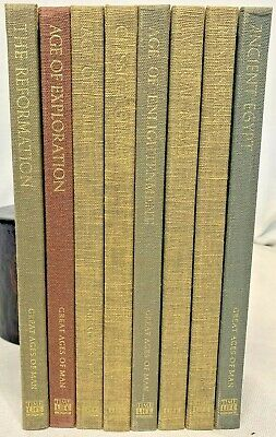 Great Ages of Man, Lot of 8 Hardback Books from TimeLife