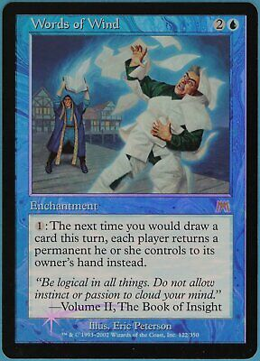Words of Wind FOIL Onslaught SPLD Blue Rare MAGIC MTG CARD (ID# 89559) ABUGames