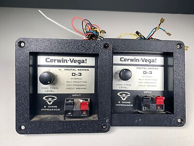 ONE OEM VINTAGE Cerwin Vega Crossover Perfect Working D3 D-3