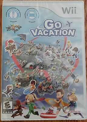 Go Vacation (Nintendo Wii, 2011) BRAND NEW SEALED